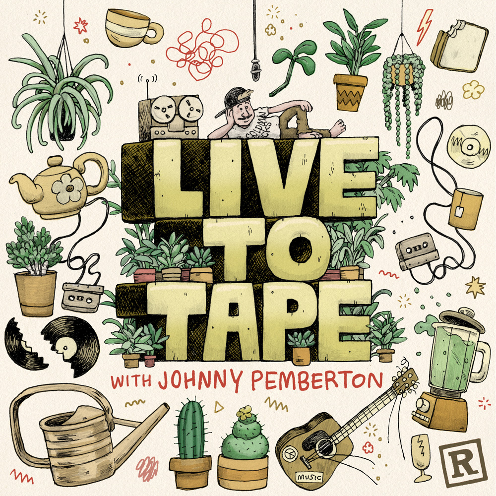 Live to Tape Podcast Cover - Square