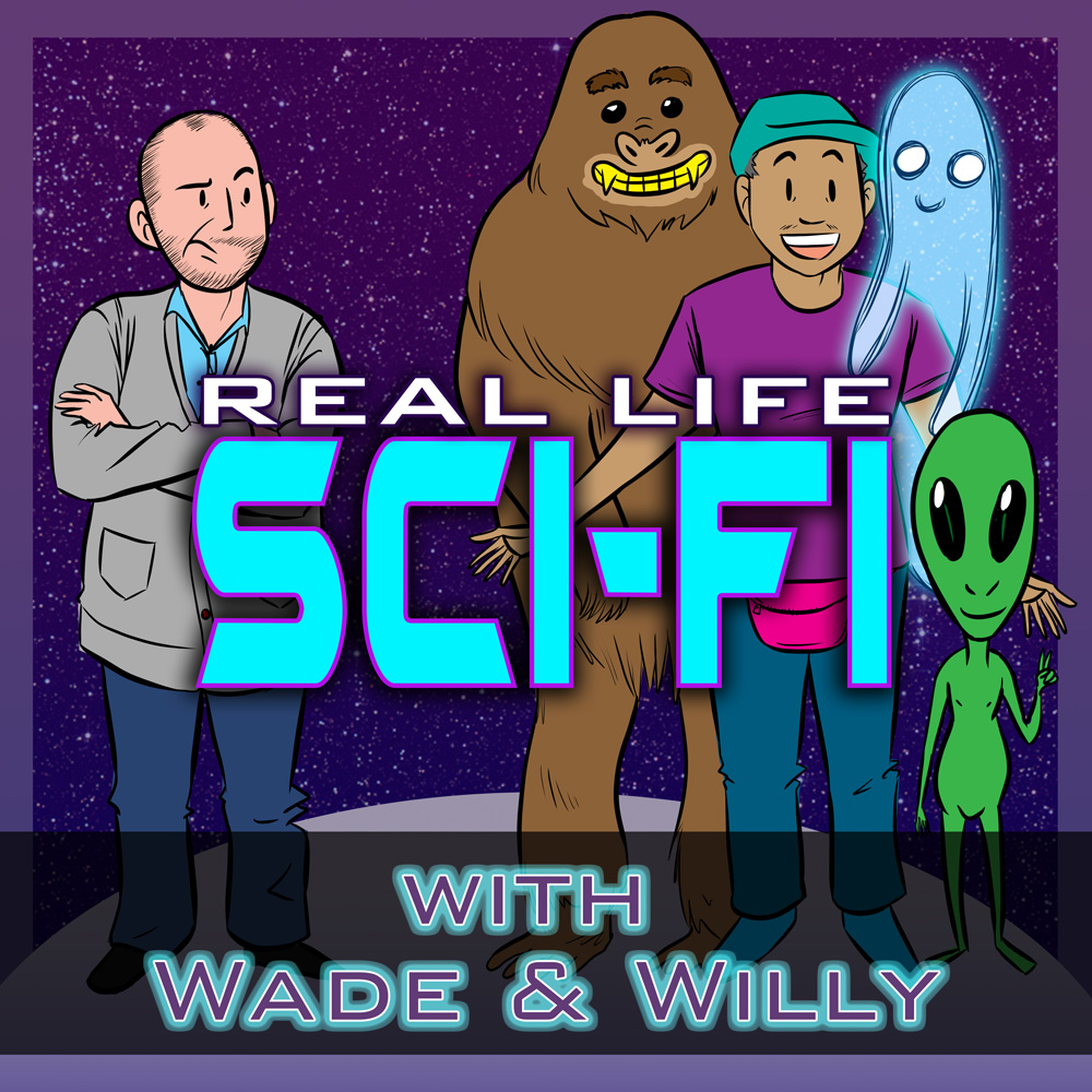 Real Life Sci-Fi Podcast Cover - Square