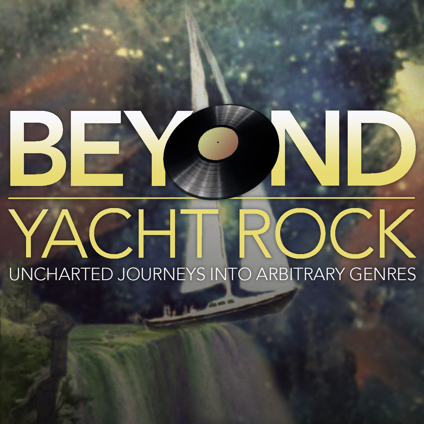 Beyond Yacht Rock Podcast Cover - Square