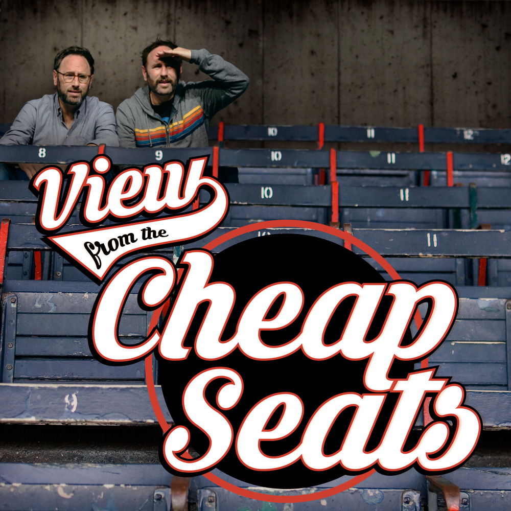 View from the Cheap Seats Podcast Cover - Square