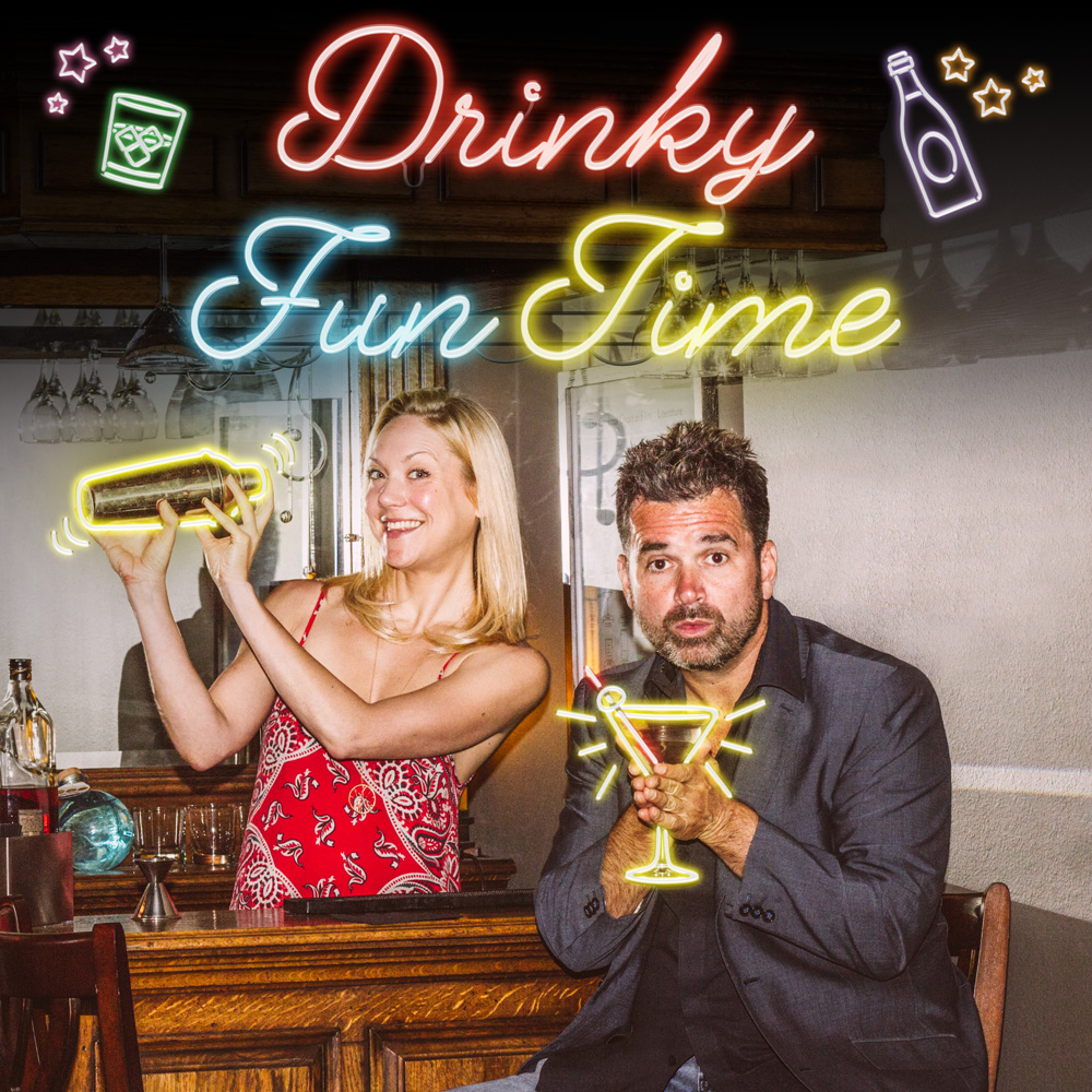 Drinky Fun Time Podcast Cover - Square