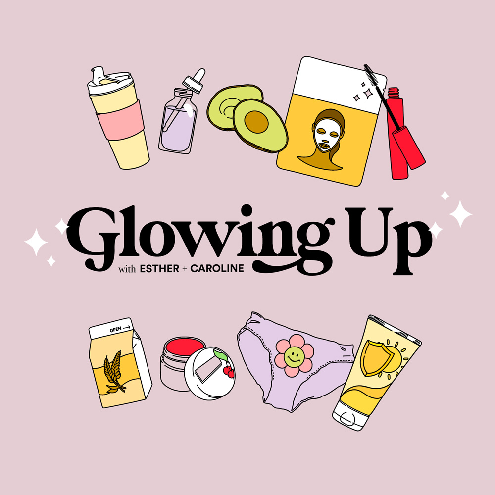 Glowing Up Podcast Cover - Square