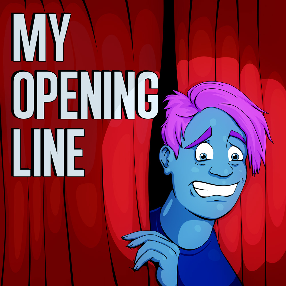 My Opening Line Podcast Cover - Square
