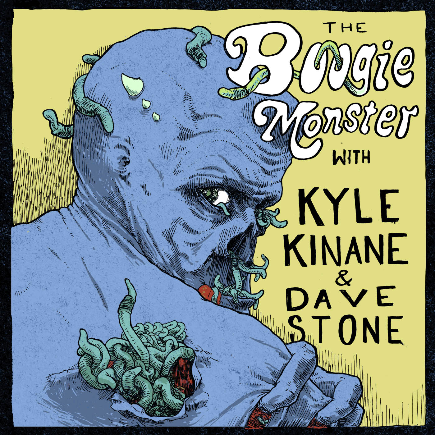Boogie Monster Podcast Cover - Square