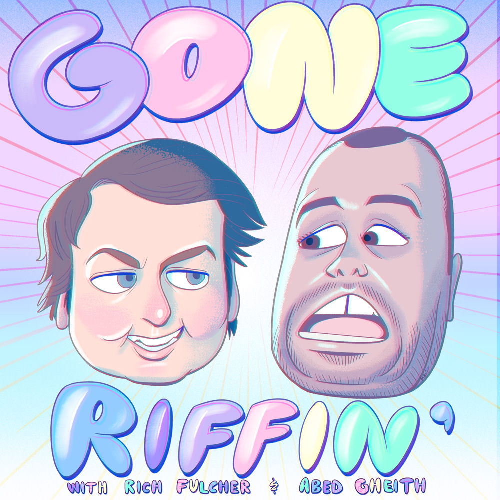 Gone Riffin Podcast Cover - Square