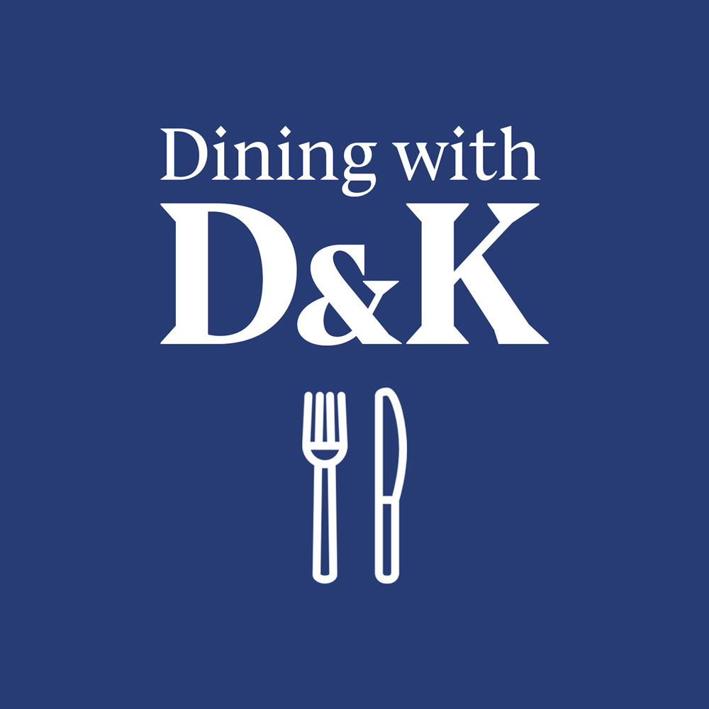 Dining with D&K Podcast Cover - Square