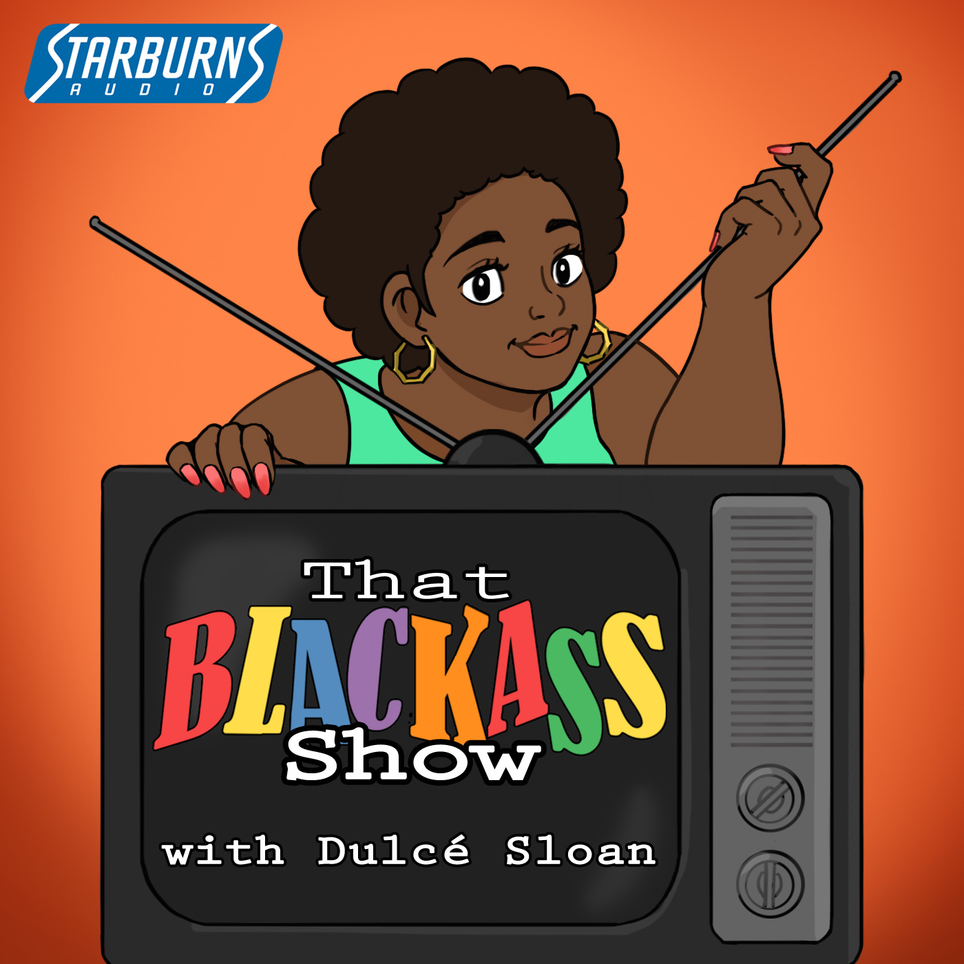 That Blackass Show Podcast Cover - Square