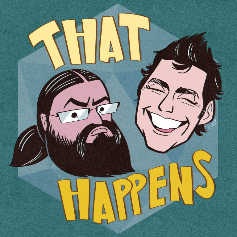 That Happens Podcast Cover - Square