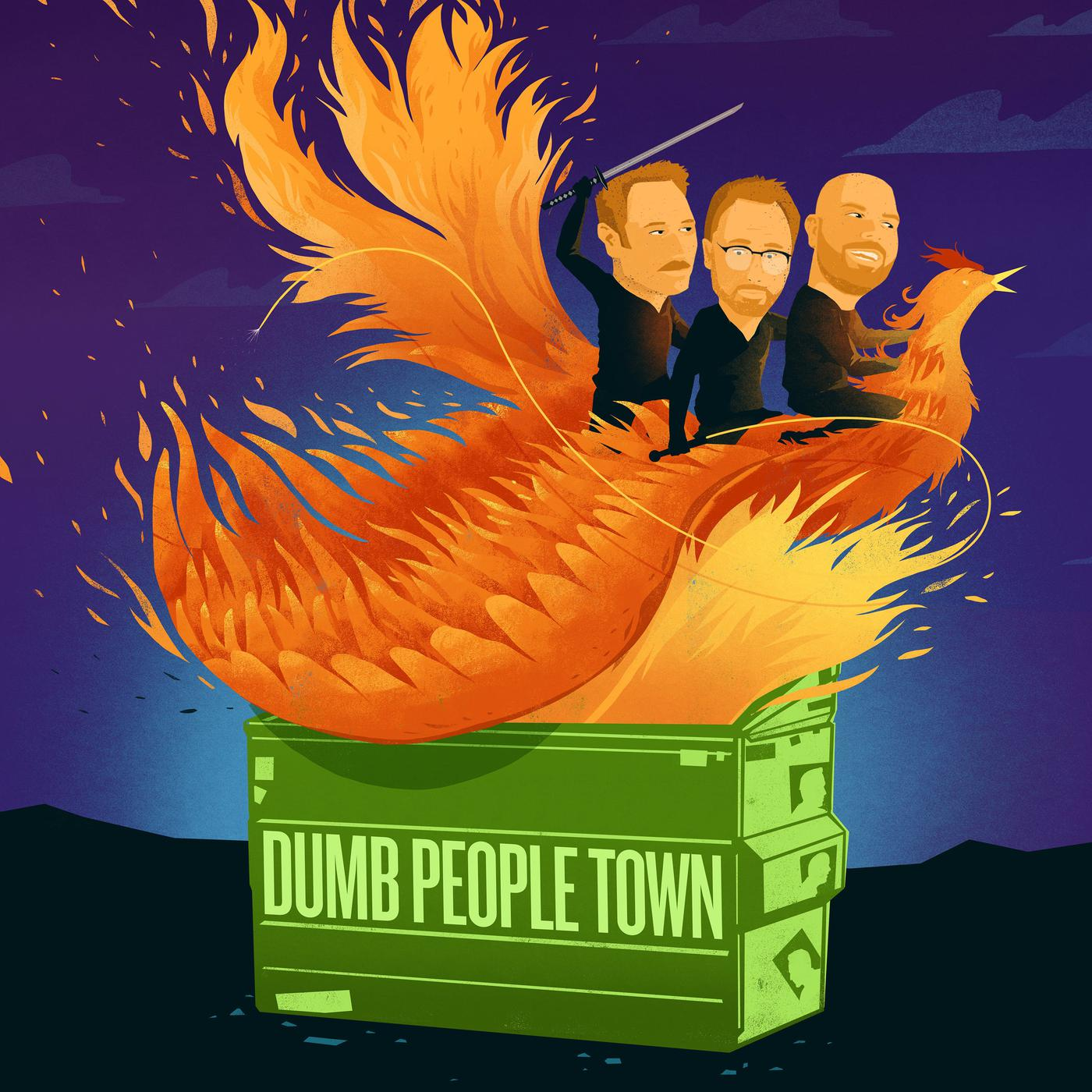 Dumb People Town podcast cover